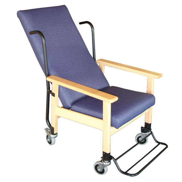 Sill n reclinable con ruedas 428 for Sillon reclinable exterior