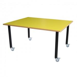 Mesa con ruedas